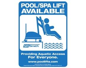 Thumbnail for Poollift Available Sign