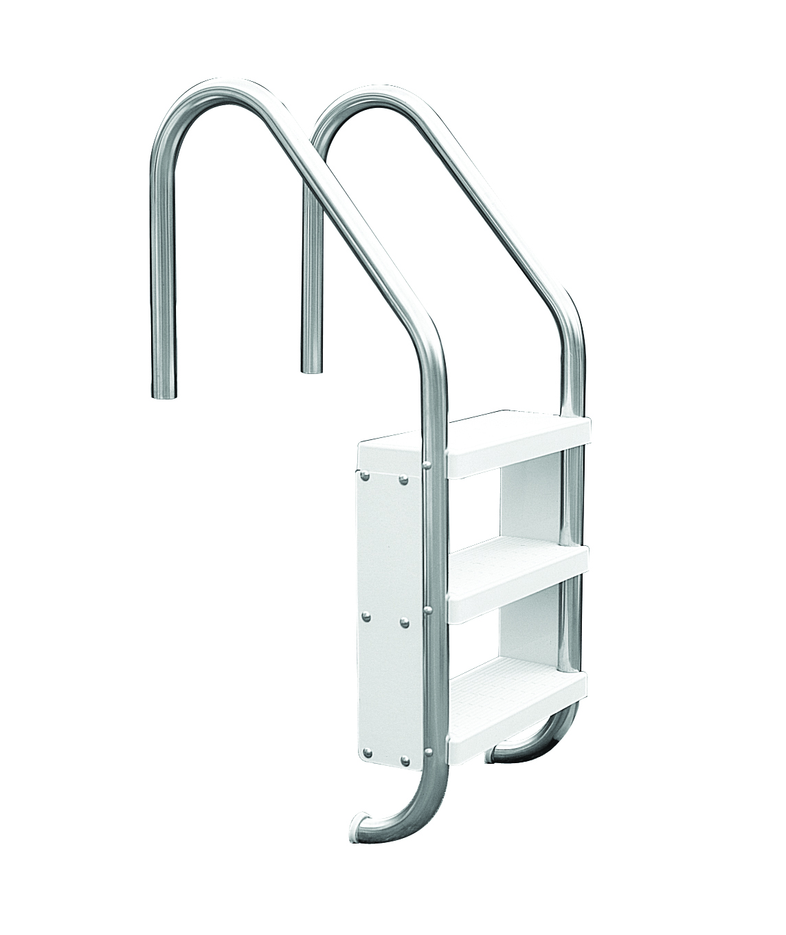 Safety pool step ladder official s r smith products for Pool ladder