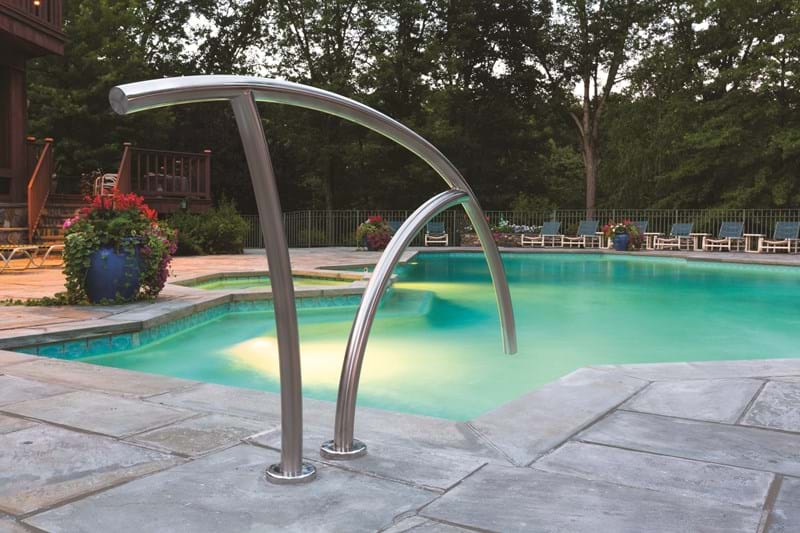 Pool Ladders And Pool Rails S R Smith Products