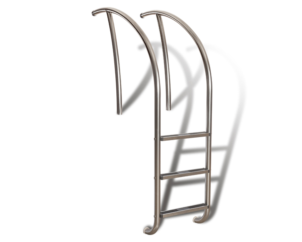 Artisan series ladder rail art 1003 s r smith products for Swimming pool slide replacement parts