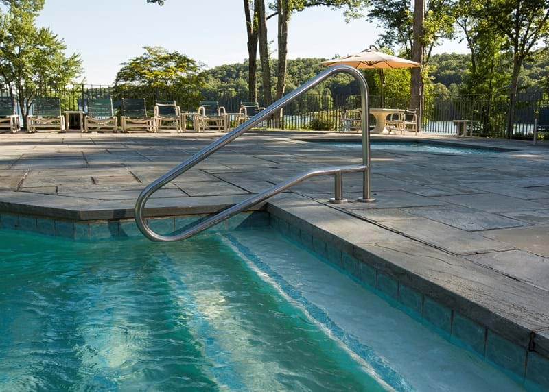 Cleaning Pool Ladders & Rails - S.R. Smith Blog
