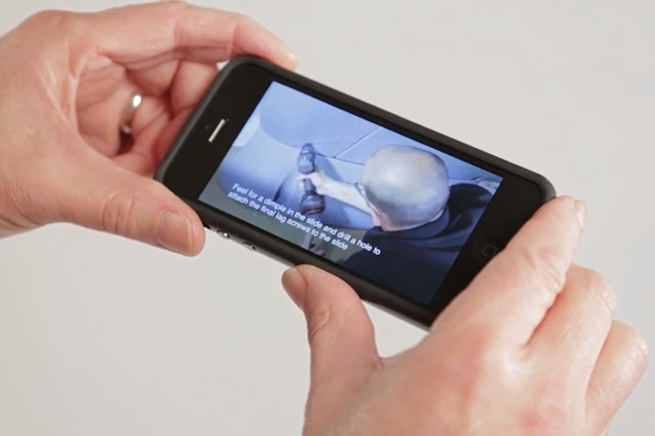 Installation videos can be viewed from your mobile device.