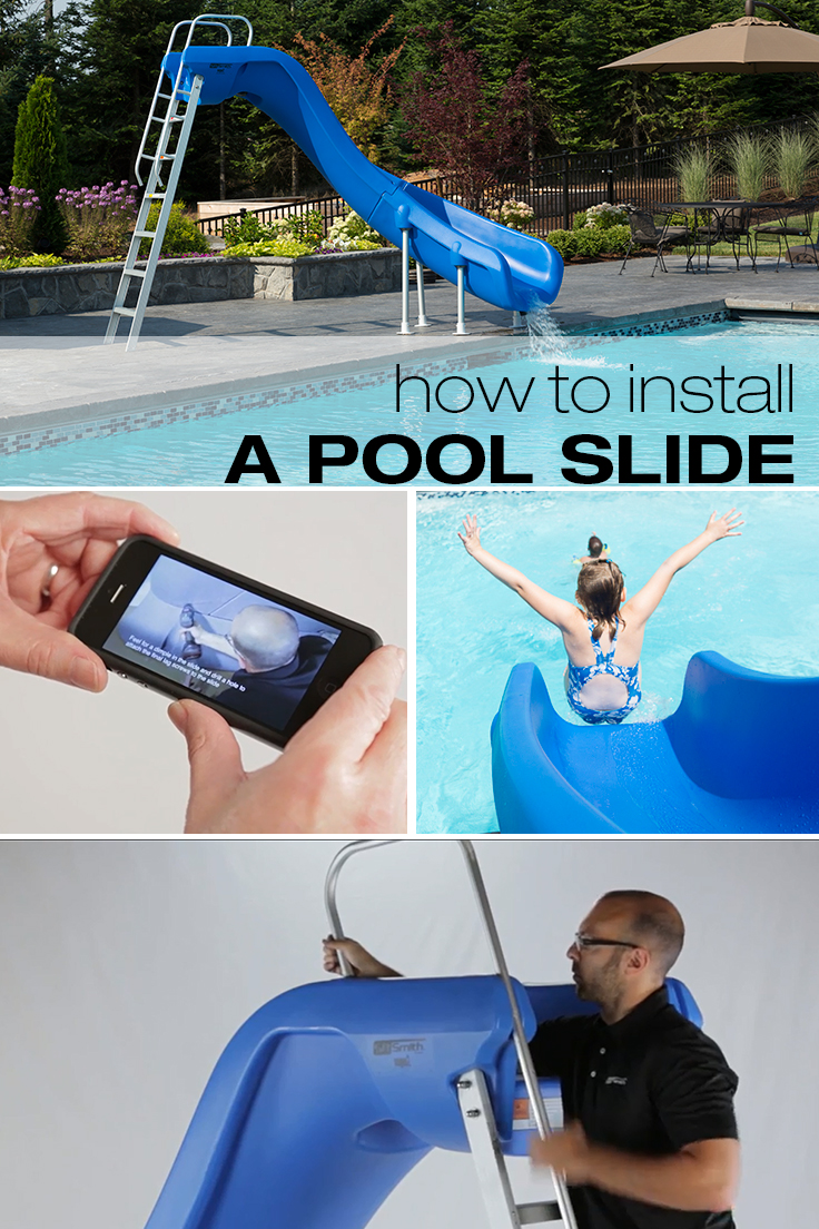 How to Install Pool Slides