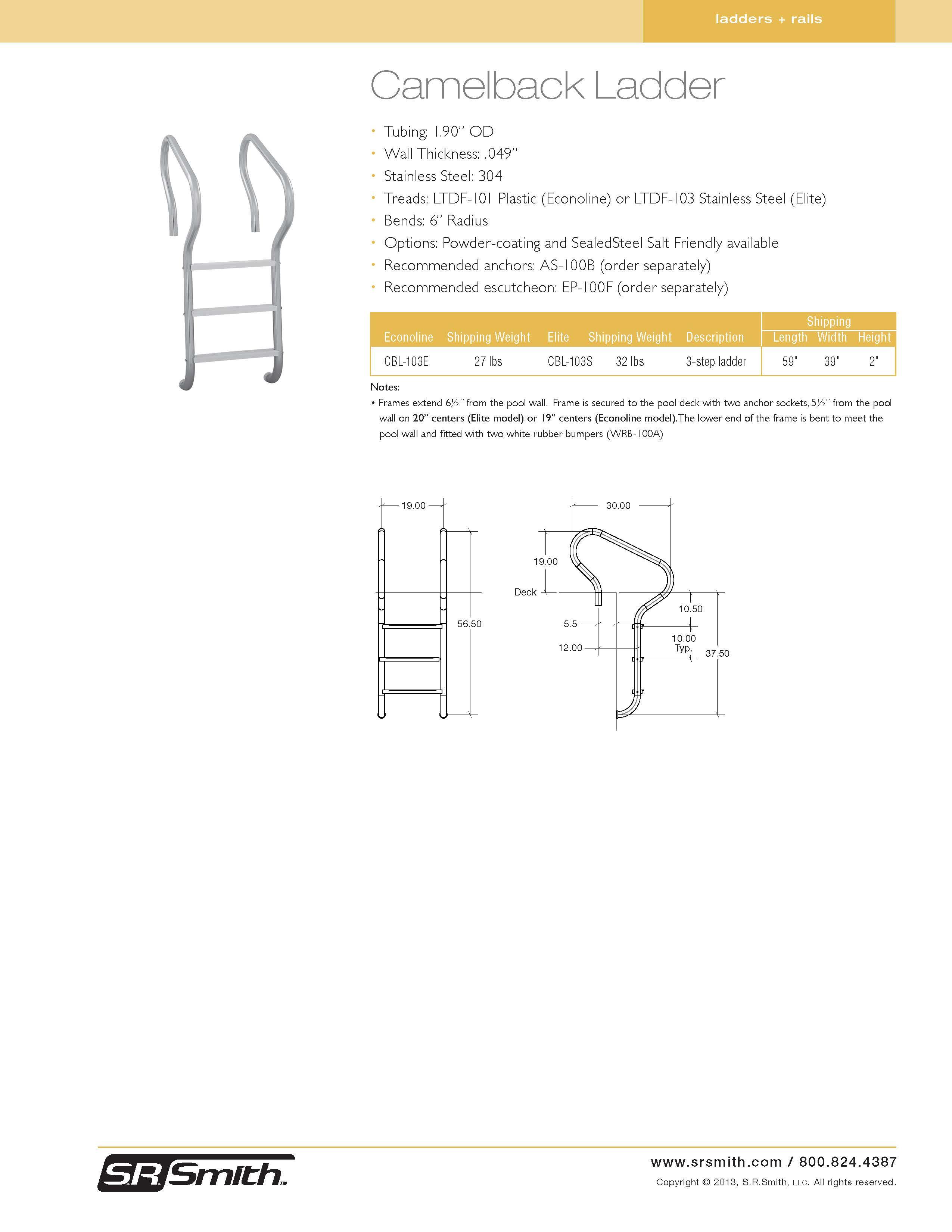 Ladders Safety Pdf Camelback