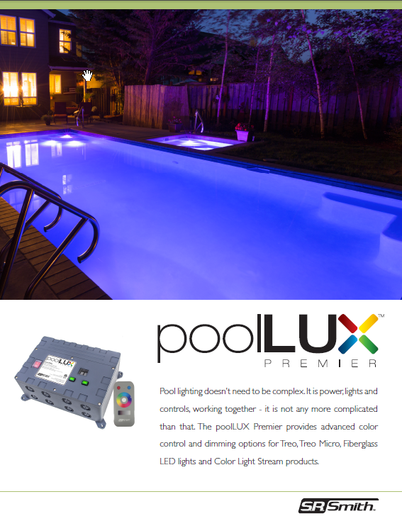 Led Swimming Pool Light Control Poollux Control System