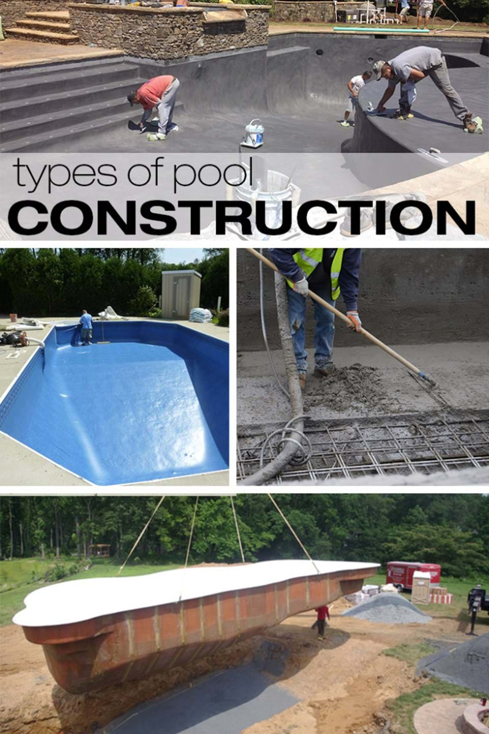 Types of inground swimming pools s r smith blog for Types of inground swimming pools