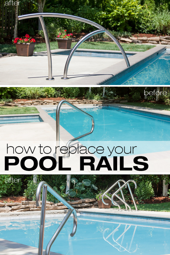 How To Easily Change Pool Ladders & Handrails