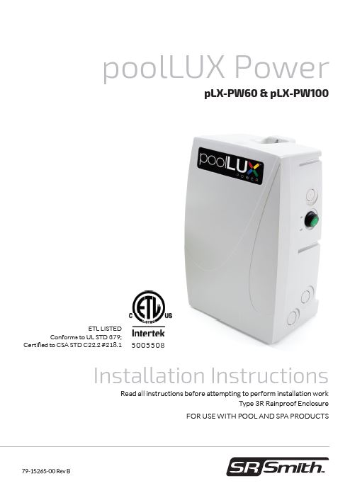 Poollux Power Lighting Control System
