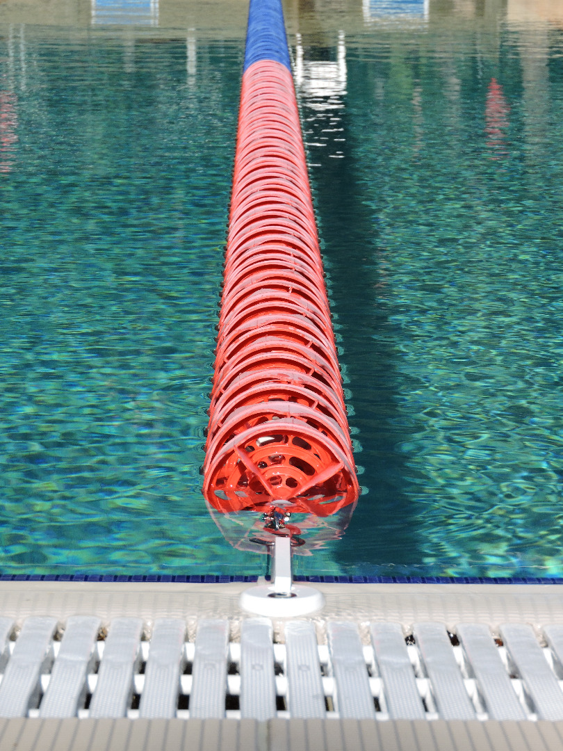 Lane Line Anchor For Overflow Pools