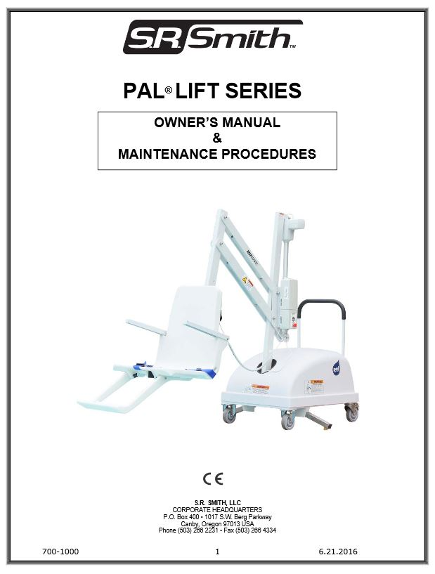 PAL Pool Lift - Official S R  Smith Products