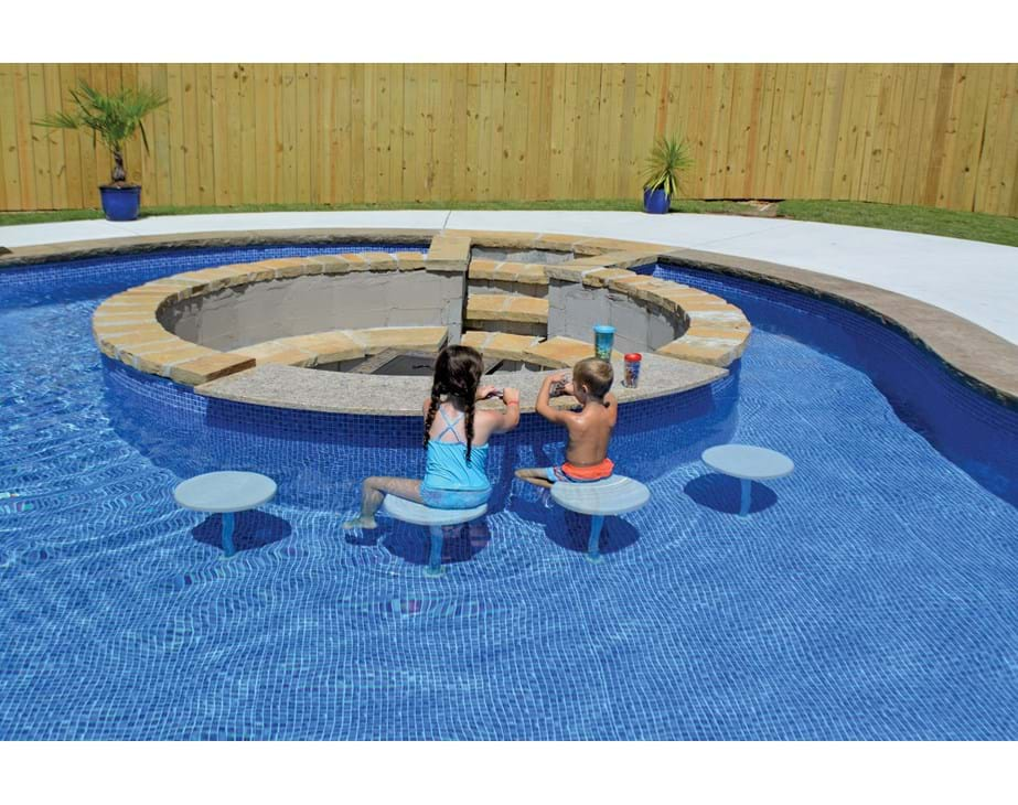 Thumbnail for Pool Seating in a vinyl liner [high res]
