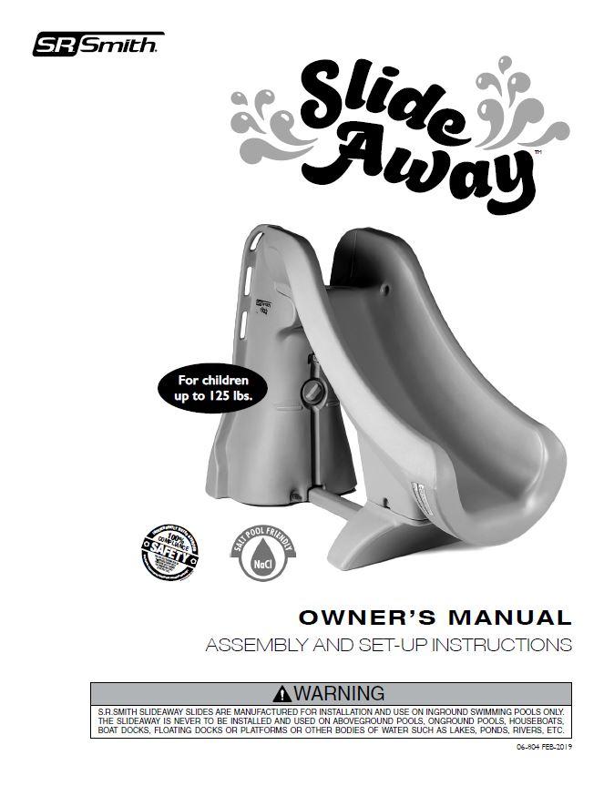 SRS SlideAway™ The Safe Removable Pool Slide | Official S R