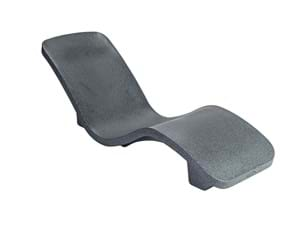 Thumbnail for R-Series Rotomolded Lounger - Gray Granite