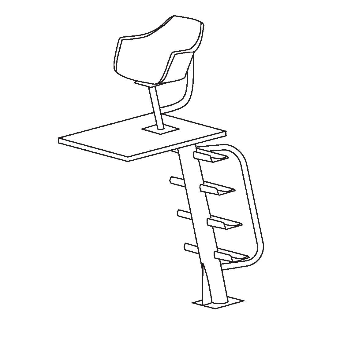 coloring pages of lifeguard stand - photo#10